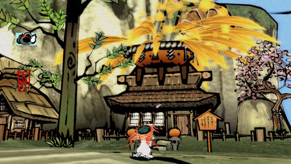 Okami HD Launches On October 30th For PSN, New Trailer And Screenshots