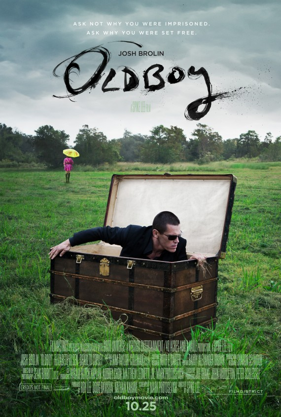 Spike Lee's Oldboy Has A New Poster
