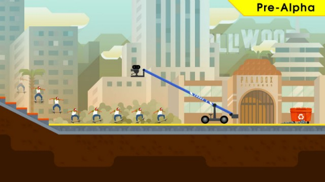 OlliOlli2: Welcome To Olliwood Will Ollie Onto PS4 & Vita March 3rd