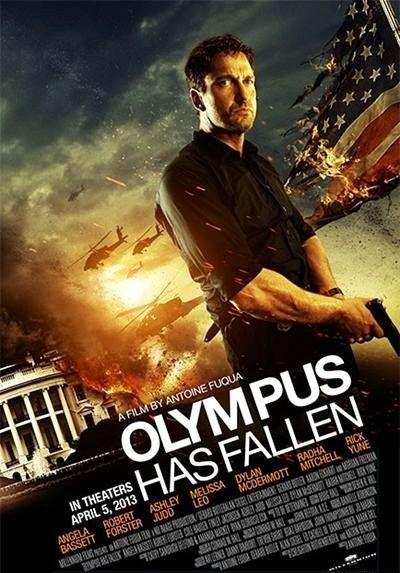 First Poster For Gerard Butler's Olympus Has Fallen