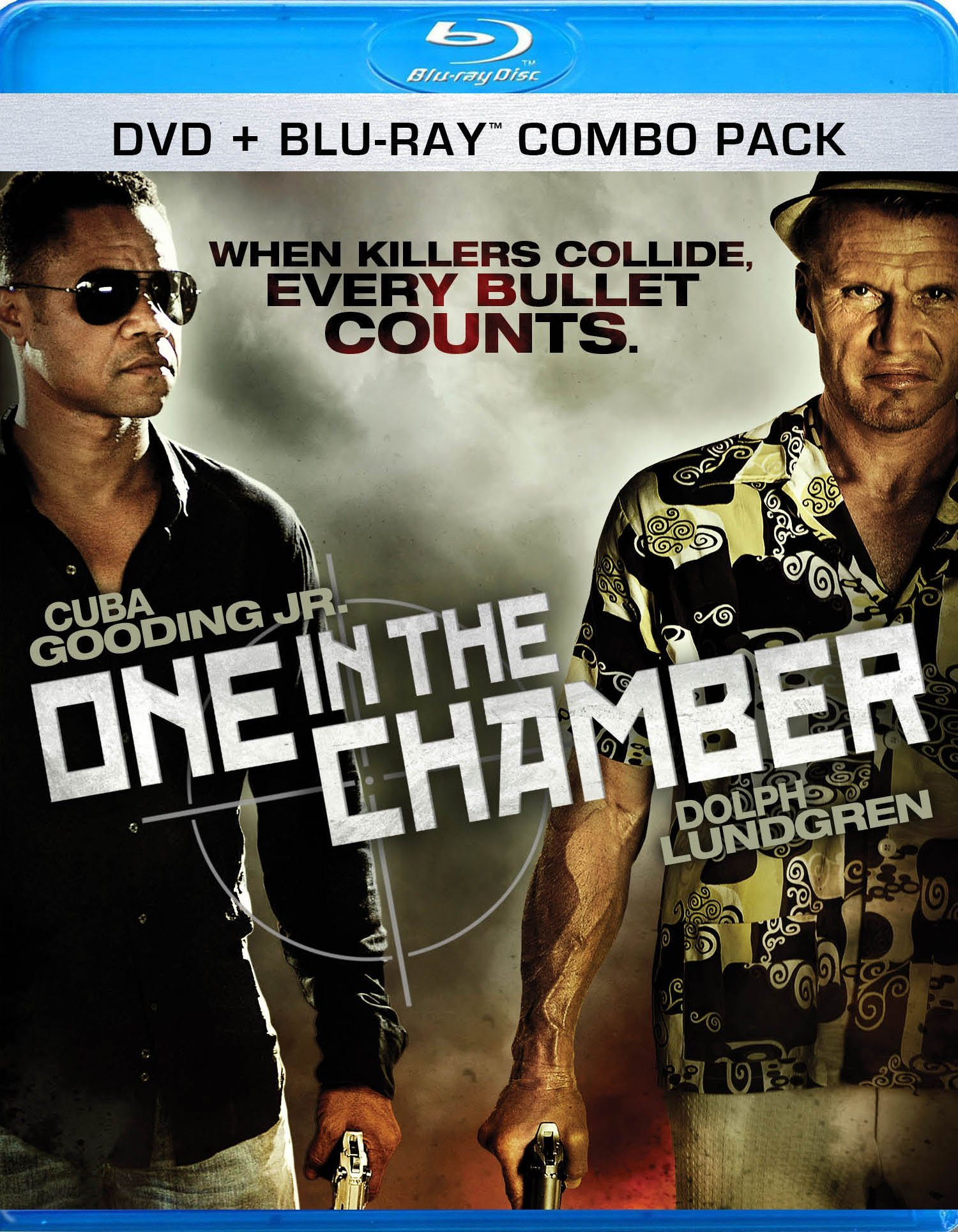 Trailer & Box Art For One In The Chamber Blu-Ray