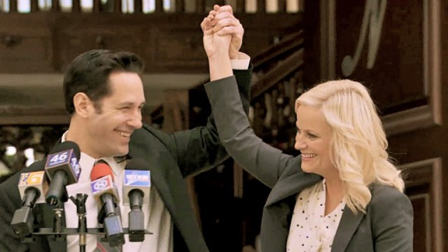 Amy Poehler And Paul Rudd Come Together For New David Wain Comedy