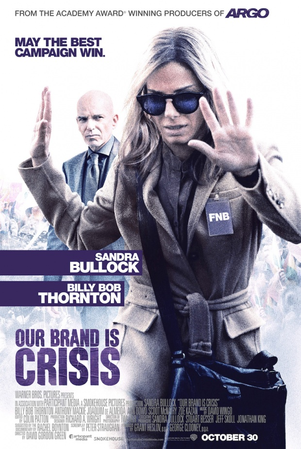 Sandra Bullock Aims For Political Victory In First Trailer For Our Brand Is Crisis
