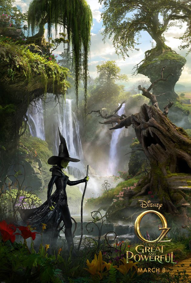 Wicked Witch Of The West Revealed In New Poster For Sam Raimi's Oz: The Great And Powerful