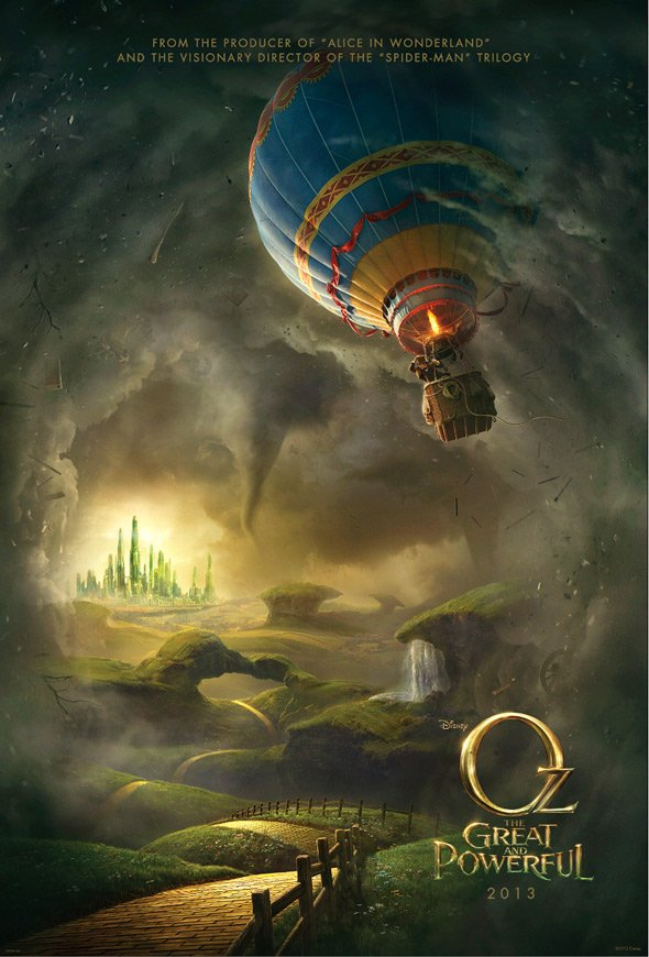 First Poster Released For Disney's Oz: The Great And Powerful
