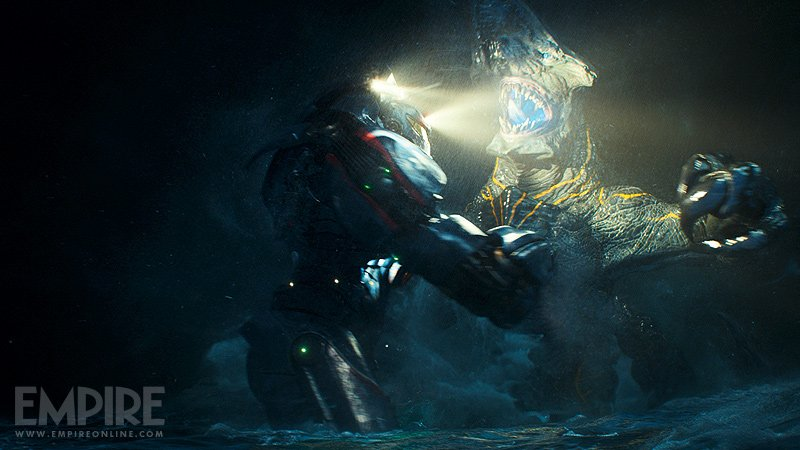 pacificrim2 New Stills From Pacific Rim Show Just How Massive Those Monsters Are