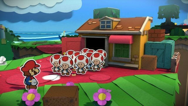 Paper Mario: Color Splash Will Bring The Franchise To Nintendo Wii U In 2016