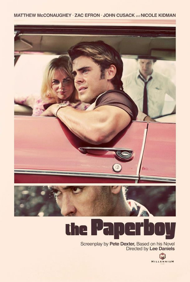 New Poster For The Paperboy Is Old-School