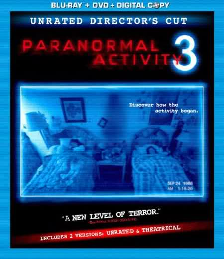 Paranormal Activity 3 Unrated Director's Cut To Blu-Ray In January
