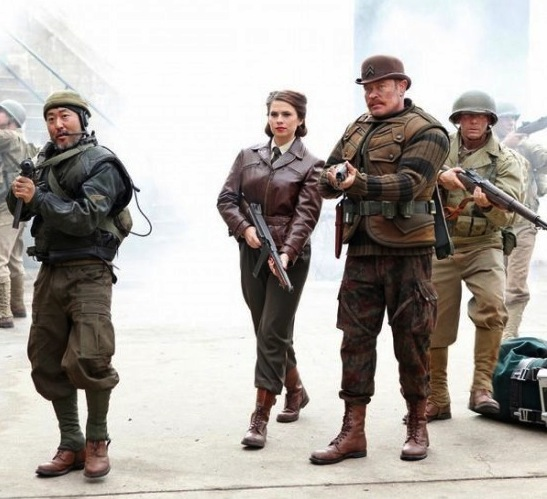 First Pic Of Peggy Carter In Marvel's Agents Of S.H.I.E.L.D.
