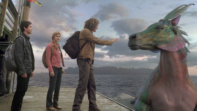 percy jackson sea of monsters clip my other boat is a hippocampus video 639x360 Percy Jackson: Sea of Monsters Review