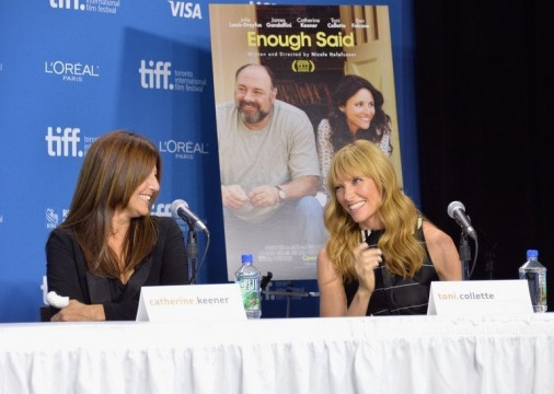 Roundtable Interview With Catherine Keener And Toni Collette On Enough Said