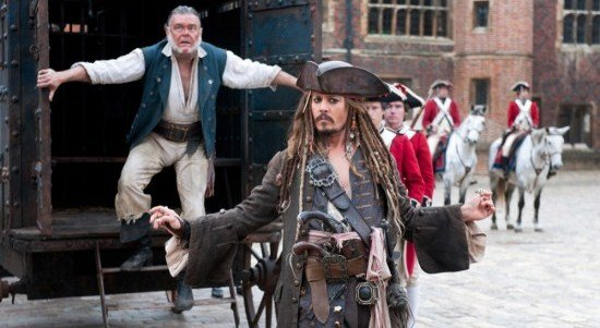 The Fifth Pirates Of The Caribbean Film Sets Its Sails