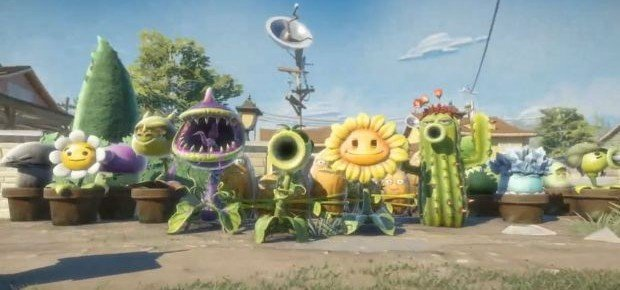 EA Reveals Plants Vs. Zombies Garden Warfare