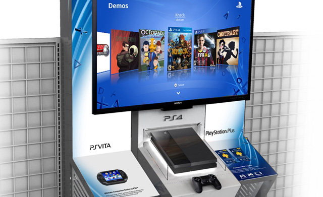 PlayStation 4 Demo Stations Are Making Their Way To Retailers