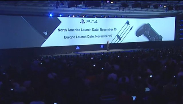[Update] Gamescom 2013: PlayStation 4 Launches On November 15th In North America