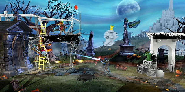 playstation all stars battle royale isaac zeus 4 640x321 Buy God Of War: Ascension Get Next PlayStation All Stars Battle Royale DLC Free