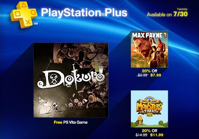 PlayStation Plus Update: Dokuro Free, Grab Max Payne 3 For $8