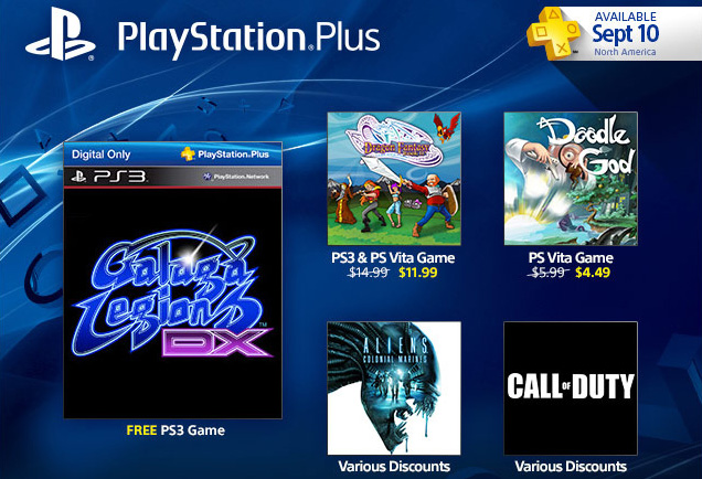 PlayStation Plus Update: Galaga Legions DX Free, And Call Of Duty Franchise Sale
