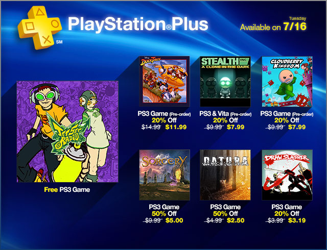 playstation plus jet-set-radio