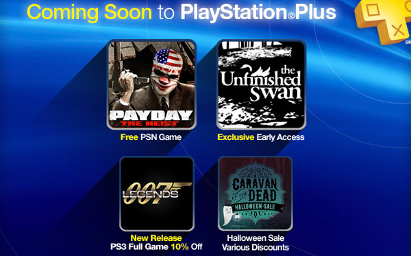 Payday: The Heist Free For PlayStation Plus, And PSN Halloween Sale