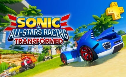 playstation plus sonic all-stars racing transformed