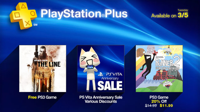 playstation plus spec ops the line PlayStation Plus North American March Preview, Spec Ops Free Tomorrow