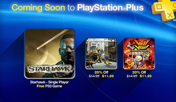 PlayStation Plus Update: Starhawk Campaign Free And New Discounts