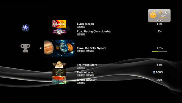 New PS3 Software Update Adds Vita Trophy Support