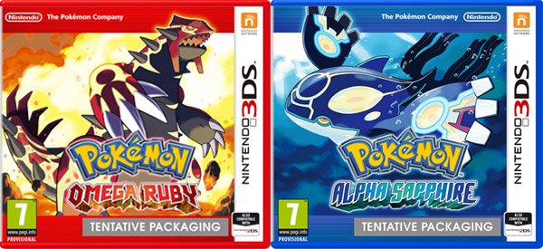 Pokemon Ruby & Sapphire Getting 3DS Remakes In November