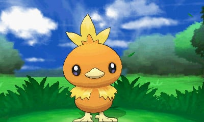 Pokemon X & Y Players Get Free Torchic Starting October 12th