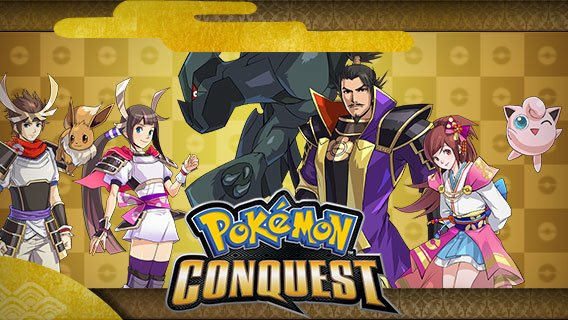 Pokémon Conquest Will Combine Feudal Warlords With Elemental Monsters On June 18