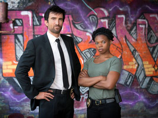 Sony Unveils First Still For Powers Featuring Sharlto Copley