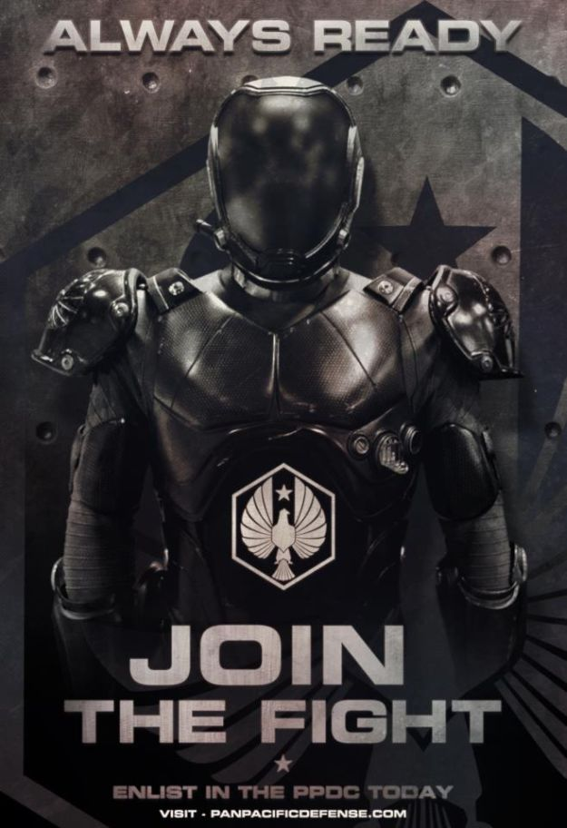 New Pacific Rim Poster Asks You To Join The Fight