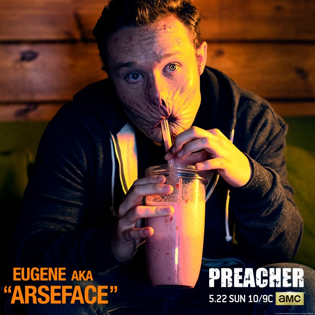 Preacher's Arseface Revealed At WonderCon