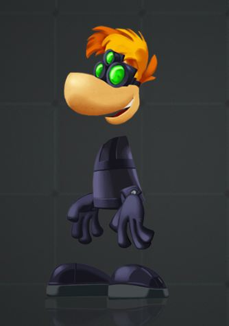 new rayman legends level pre order costumes announced - Splinter Cell Halloween Costume