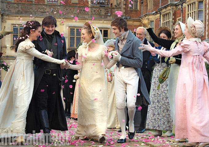 Britons And Brain-Munchers In New Images From Pride And Prejudice And Zombies