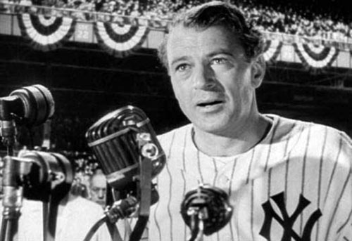 pride of the yankees gary cooper The Top 10 Baseball Movies Of All Time