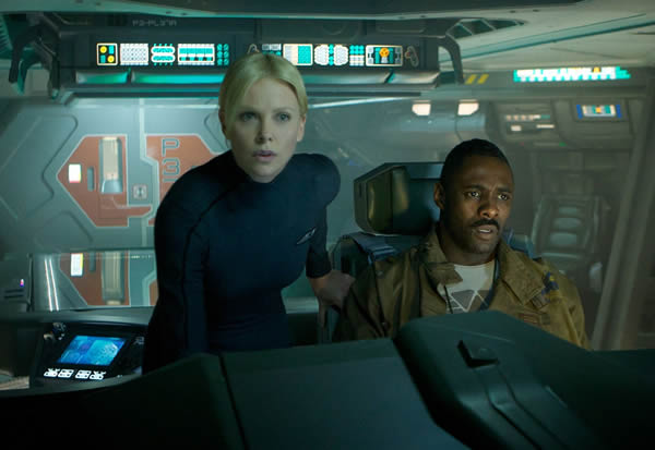 prometheus charlize theron idris elba Fictional Science: 100 Glaring Logical Issues With Prometheus