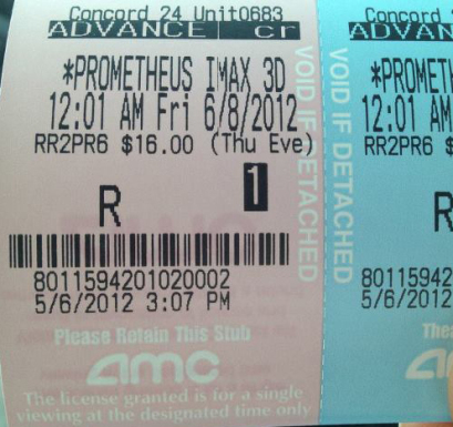 Is Prometheus Rated R?