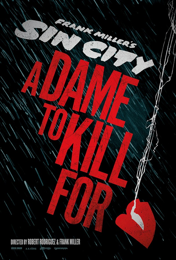 Promo Posters For Robert Rodriguez's Sin City: A Dame To Kill For & Machete Kills