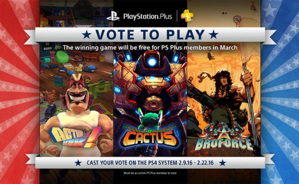 PlayStation Plus Vote To Play Returns With Three New Games For March 2016