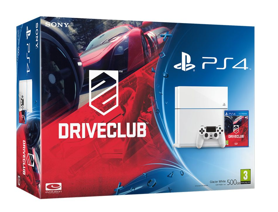 Sony Unveils Two New Driveclub PS4 Bundles For Europe