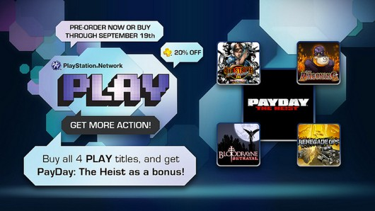 Sony Announces PlayStation Network PLAY Downloadable Games Promotion