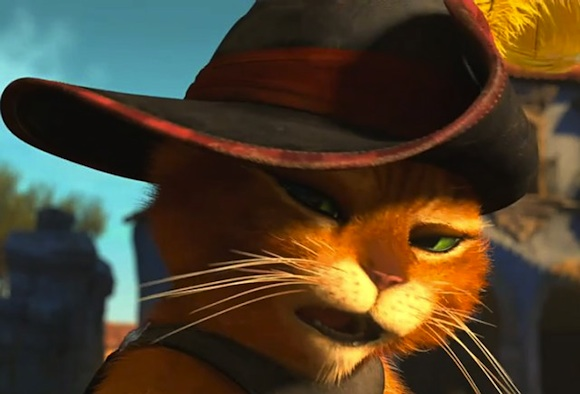 Box Office: Puss In Boots Still Stomping Competition