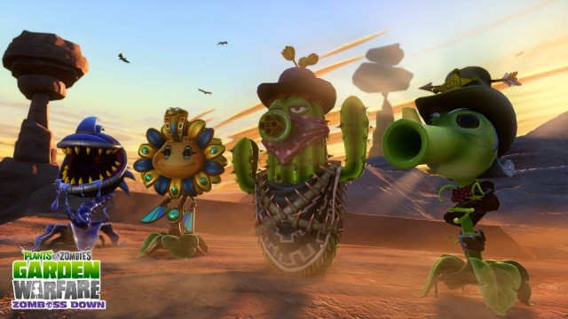 Charming Free Zomboss Down DLC Available For Plants Vs. Zombies: Garden Warfare Today Design Inspirations