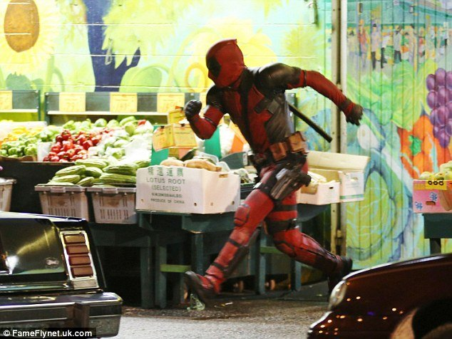 Ryan Reynolds Suits Up As Deadpool Again For Recent Reshoots