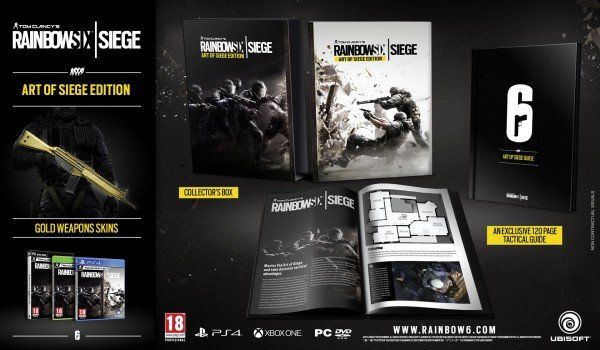 Ubisoft's Rainbow Six Siege Steals The Show With New Gameplay Trailer, Collector's Edition Also Revealed