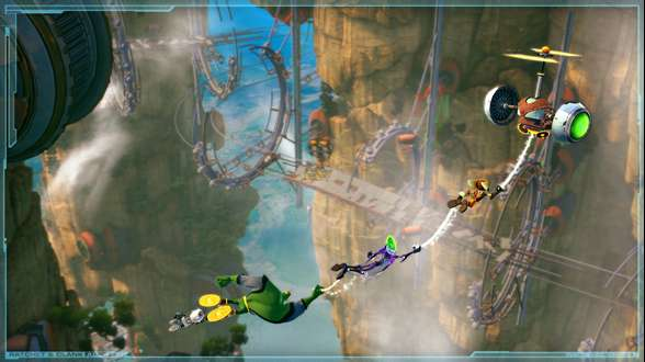 Ratchet & Clank: All 4 One Has 3D Support