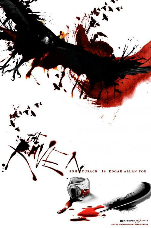 raven 2 The Top 10 Movie Posters Of 2012